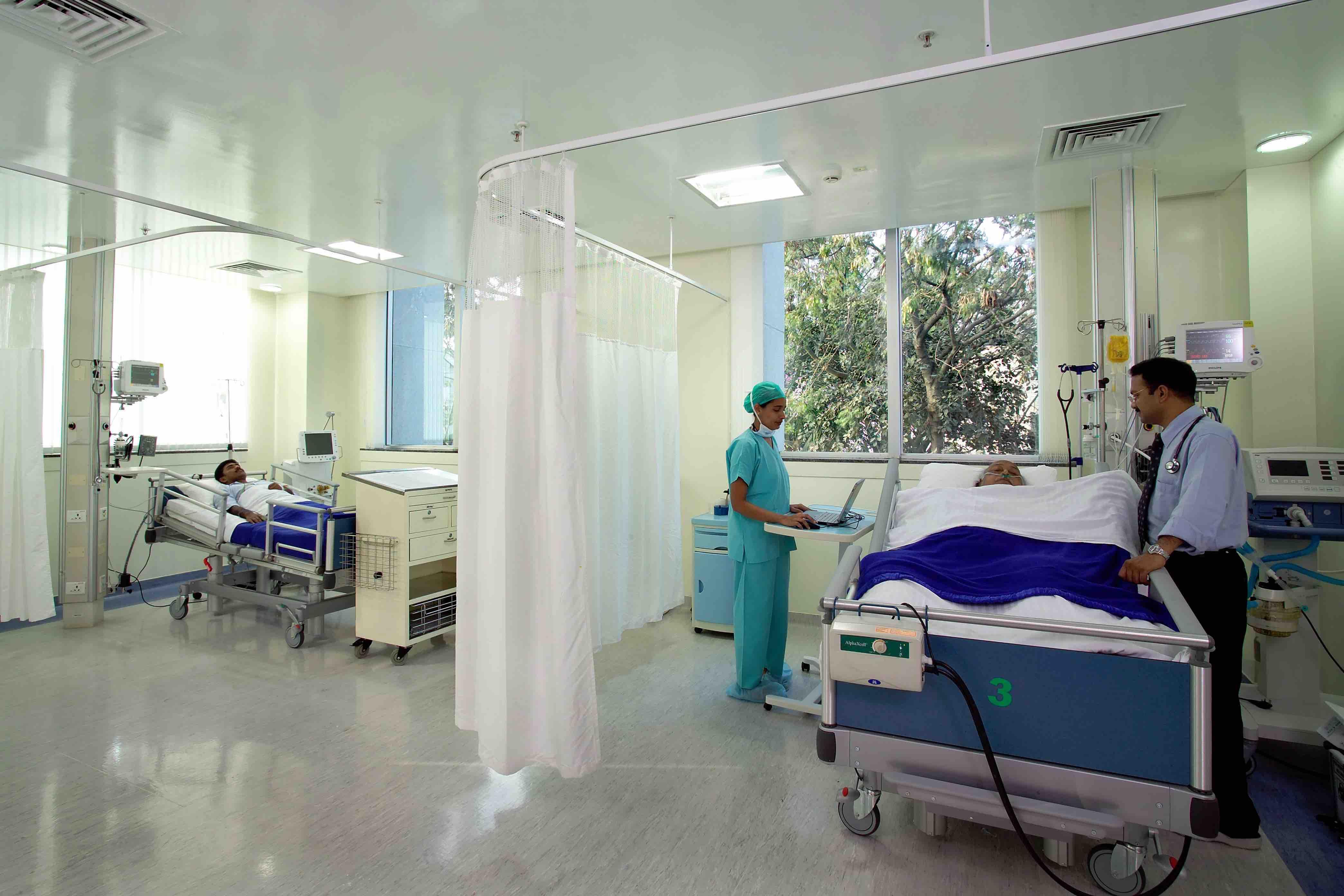 Inside Columbia Asia Hospital